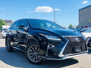 Used 2017 Lexus RX 350 F SPORT|AWD|SUNROOF|VENT MEMORY SEATS|NAVI|REAR CAM for sale in Brampton, ON