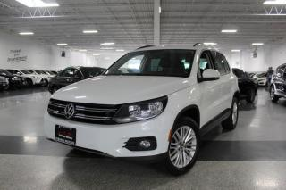 Used 2016 Volkswagen Tiguan 4MOTION I REAR CAM I HEATED SEATS I KEYLESS ENTRY I BT for sale in Mississauga, ON