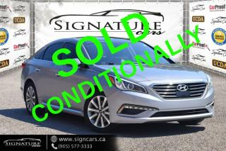 Used 2016 Hyundai Sonata 2.4L. NO ACCIDENT. LANE SENSE. HEATED/VENTED SEATS. NAVI. for sale in Mississauga, ON