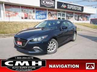 Used 2016 Mazda MAZDA3 GS  ROOF NAV CAM BT ALLOYS AUTO for sale in St. Catharines, ON