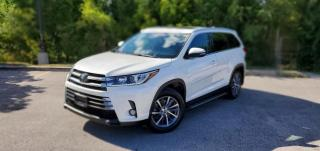 Used 2018 Toyota Highlander XLE|NAVI|TEXT.US|647.678.7778| LEATHER| SUNROOF| 8 PASSENGERS|CLEANCARFAX| for sale in Mississauga, ON