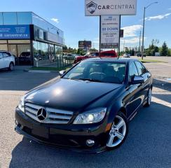 Used 2009 Mercedes-Benz C-Class C300 4Matic Luxury Sedan for sale in Barrie, ON