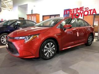 New 2021 Toyota Corolla Hybrid COROLLA HYBRID Corolla Hybrid for sale in Mississauga, ON