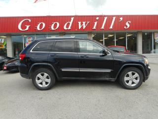 Used 2011 Jeep Grand Cherokee LAREDO! HEATED LEATHER! REMOTE START! BACKUP CAM! for sale in Aylmer, ON