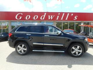 Used 2012 Jeep Grand Cherokee OVERLAND! HEATED LEATHER! NAV! REMOTE START! for sale in Aylmer, ON
