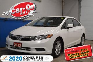 Used 2012 Honda Civic EX SUNROOF ALLOYS for sale in Ottawa, ON