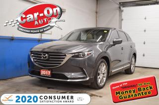 Used 2017 Mazda CX-9 GT LOADED incl HUD, ROOF NAVIGATION for sale in Ottawa, ON
