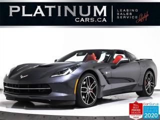 Used 2017 Chevrolet Corvette Stingray, 3LT, Z51, 450HP, NAV, HUD, CARBON, CAM for sale in Toronto, ON