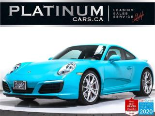 Used 2017 Porsche 911 Carrera 4S, AWD, 420HP, PDK, SPORTS CHRONO, NAV for sale in Toronto, ON