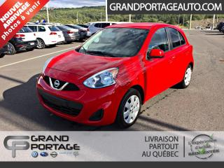 Used 2015 Nissan Micra SV à hayon 4 portes BA for sale in Rivière-Du-Loup, QC