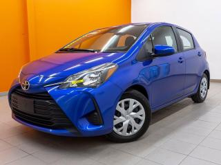 Used 2019 Toyota Yaris LE AUTOMATIQUE *SIEGES CHAUFF* CAMERA *USB* PROMO for sale in St-Jérôme, QC