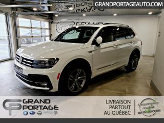 Used 2019 Volkswagen Tiguan Highline 4MOTION **Ensemble R-Line** for sale in Rivière-Du-Loup, QC
