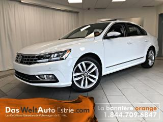Used 2017 Volkswagen Passat 1.8 TSI Highline, Cuir, Toit, Automatique for sale in Sherbrooke, QC