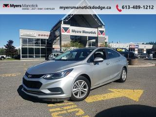 Used 2016 Chevrolet Cruze LT  - Heated Seats -  Cruise Control - $110 B/W for sale in Ottawa, ON
