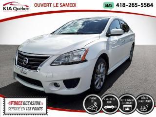 Used 2015 Nissan Sentra SR* CVT* GPS* TOIT* CAMERA* SIEGES CHAUF for sale in Québec, QC