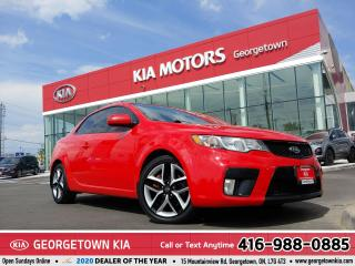 Used 2012 Kia Forte Koup SX COUP | LEATHER | ROOF | HEATED SEATS | ALLOYS | for sale in Georgetown, ON