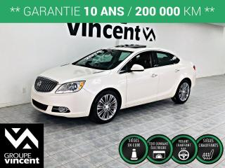 Used 2014 Buick Verano LEATHER  CUIR  ** GARANTIE 10 ANS ** Le luxe à bas prix! for sale in Shawinigan, QC