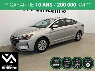 Used 2020 Hyundai Elantra ESSENTIAL ** GARANTIE 10 ANS ** Chance à saisir! Comme neuf! Bas kilométrage! for sale in Shawinigan, QC