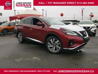 New 2020 Nissan Murano SL for sale in Kingston, ON