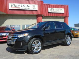Used 2013 Ford Edge Limited for sale in West Saint Paul, MB