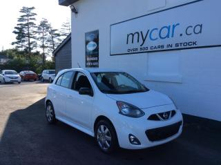 Used 2015 Nissan Micra SR BACKUP CAM, POWERGROUP, AWESOME VALUE!! for sale in Richmond, ON