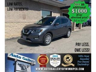 Used 2020 Nissan Rogue SV* Awd/B.cam/Htd seats for sale in Winnipeg, MB