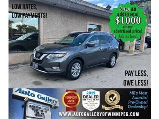 Used 2020 Nissan Rogue SV* Awd/B.cam/Roof/Htd seats for sale in Winnipeg, MB