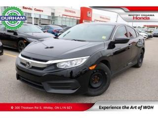 Used 2017 Honda Civic LX MANUAL for sale in Whitby, ON