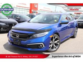 Used 2020 Honda Civic Touring for sale in Whitby, ON