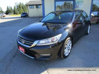Used 2013 Honda Accord LOADED TOURING-EDITION 5 PASSENGER 2.4L - DOHC.. LEATHER.. HEATED SEATS.. POWER SUNROOF.. BACK-UP CAMERA.. BLUETOOTH SYSTEM.. ECON-PACKAGE.. for sale in Bradford, ON