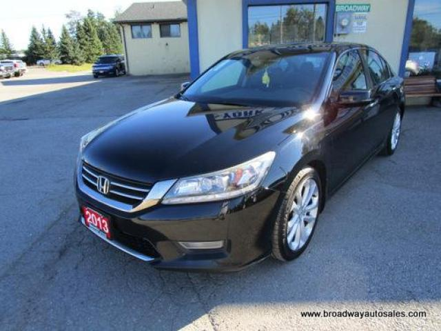 2013 Honda Accord LOADED TOURING-EDITION 5 PASSENGER 2.4L - DOHC.. LEATHER.. HEATED SEATS.. POWER SUNROOF.. BACK-UP CAMERA.. BLUETOOTH SYSTEM.. ECON-PACKAGE..