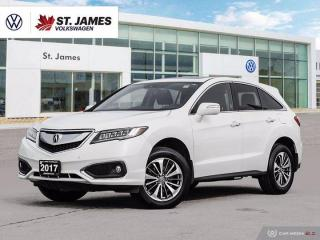 Used 2017 Acura RDX Elite, One Owner, Push to Start, Heated Seats for sale in Winnipeg, MB
