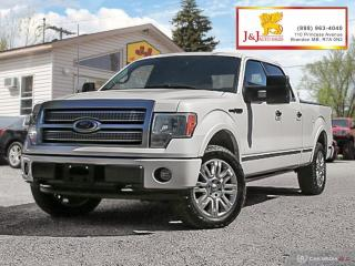 Used 2010 Ford F-150 Lariat Platinum Ed. , Fully Fully Loadeda for sale in Brandon, MB