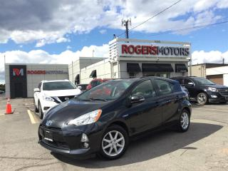 Used 2014 Toyota Prius c 2.99% Financing - NAVI - LEATHER - HTD SEATS for sale in Oakville, ON