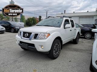 Used 2019 Nissan Frontier PRO-4X Crew Cab 4WD - Navigation - One Owner - Power Sun Roof - No Accidents - Leather for sale in North York, ON
