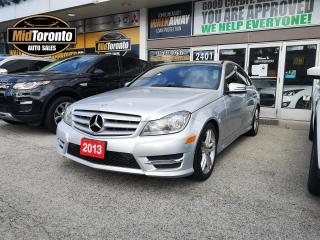 Used 2013 Mercedes-Benz C 300 4MATIC - Premium - No Accidents - Navigation - Power Sun Roof - New Tires for sale in North York, ON