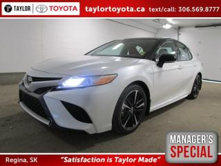 New 2020 Toyota Camry XSE Save $1500 for sale in Regina, SK