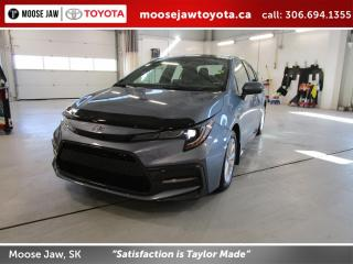 Used 2020 Toyota Corolla SE CVT for sale in Moose Jaw, SK