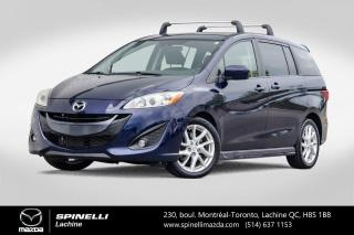 Used 2012 Mazda MAZDA5 GT Bluetooth Sieges Chauffants Mazda 5 GT 2012 for sale in Lachine, QC