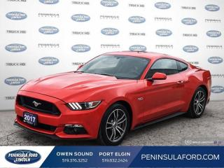 Used 2017 Ford Mustang GT Premium - Leather Seats - $243 B/W for sale in Port Elgin, ON