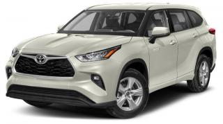 New 2020 Toyota Highlander HYBRID XLE for sale in Stouffville, ON