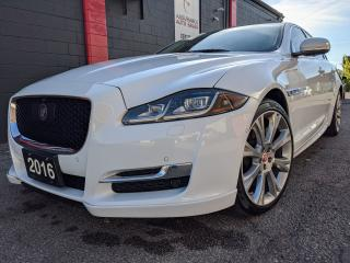 Used 2016 Jaguar XJ R-SPORT, AWD, FULLY EQUPPIED, ON CAR, NO ACCIDENTS for sale in Burlington, ON