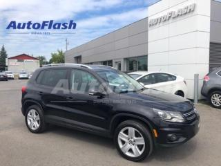 Used 2013 Volkswagen Tiguan 2.0T Comfortline 4Motion *Cuir/Leather *Toit-pano for sale in St-Hubert, QC