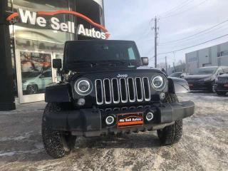 Used 2018 Jeep Wrangler JK Unlimited Sahara 4dr 4WD Sport Utility for sale in Winnipeg, MB