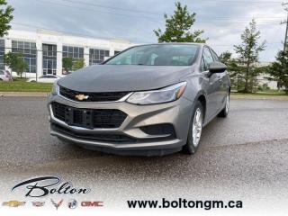 Used 2017 Chevrolet Cruze LT Auto - Heated Seats -  Touch Screen for sale in Bolton, ON