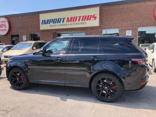 Used 2020 Land Rover Range Rover Sport SVR for sale in North York, ON