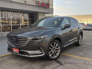 Used 2017 Mazda CX-9 Signature, Nav, Roof, Nappa Leather for sale in Chatham, ON