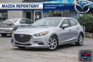 Used 2017 Mazda MAZDA3 SPORT GX CRUISE SIEGES CHAUFF 49.95$/SEM for sale in Repentigny, QC