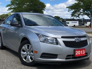 Used 2013 Chevrolet Cruze 4dr Sdn LS w/1SB for sale in Waterloo, ON