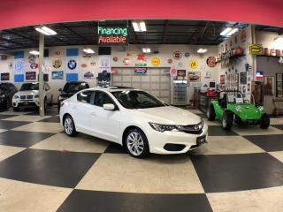 Used 2017 Acura ILX AUT0 A/C PREMIUM PKG P/START SUNROOF CAMERA 95K for sale in North York, ON
